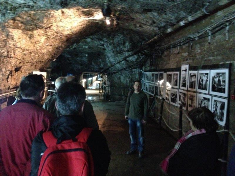 Inside the World War II Tunnels